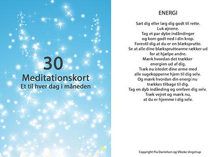 Meditations kort, Vibeke Ungstrup, Hillerød, Helsinge, Nordsjælland