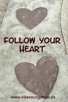 At følge dit hjerte